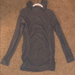 Fabletics gray sweatshirt